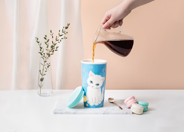 Starbucks x Paul & Joe 2018 Collection, Starbucks, Starbucks Malaysia, Starbucks x Paul & Joe, Paul & Joe Starbucks, Starbucks Paul & Joe Cat, Paul & Joe, Paul & Joe Cat, Tumbler, Mug, Tote Bag, Bearista