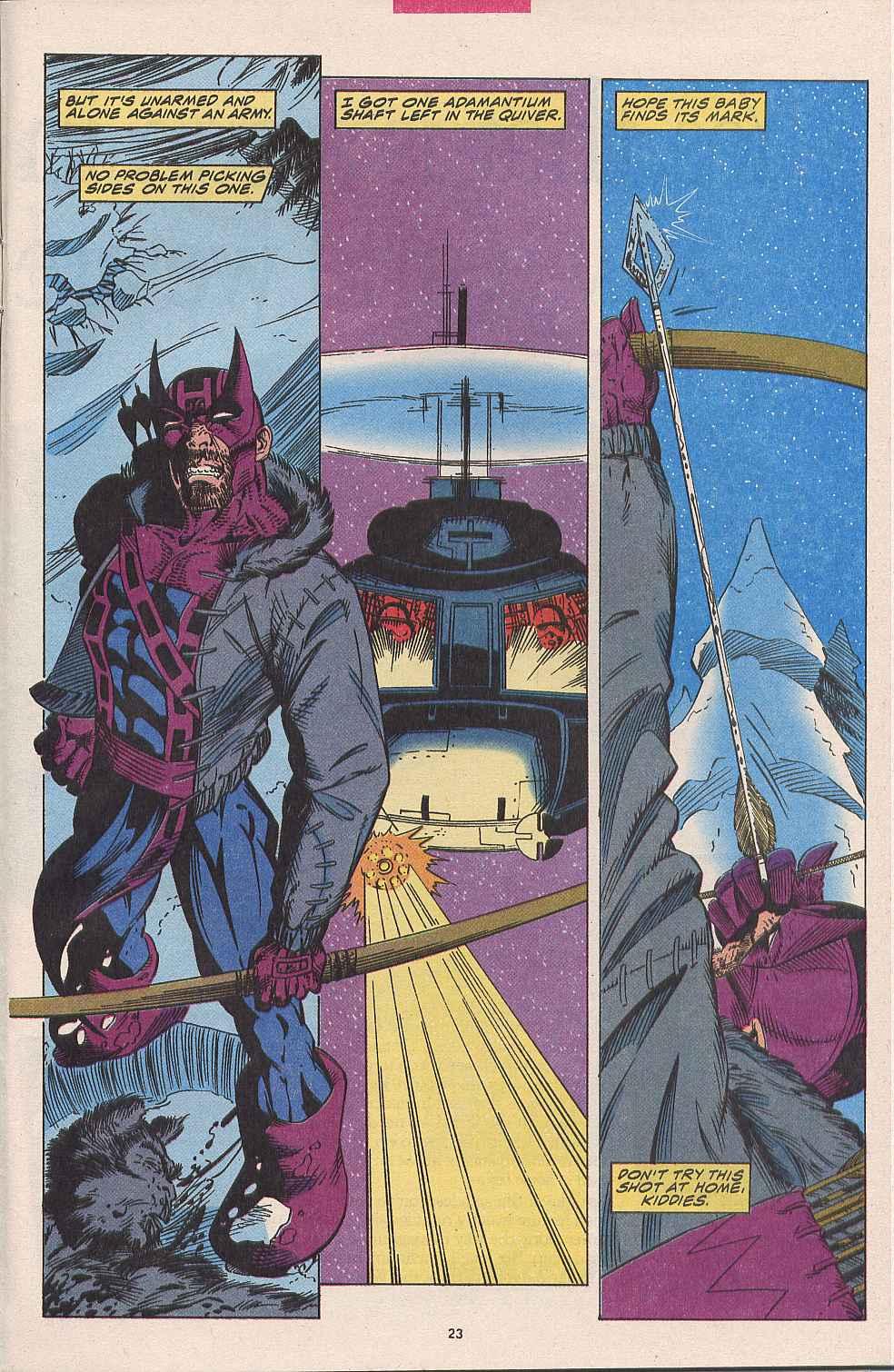 Hawkeye (1994) Issue #1 #1 - English 19