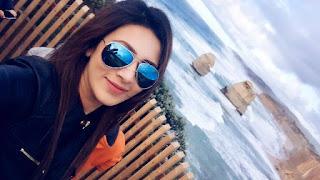 Bidya Sinha Saha New Selfie With Black Sun Glass