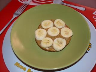 Banofee socle confiture de lait bananes