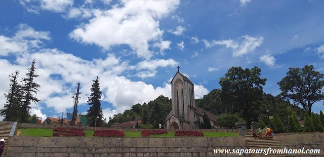 The Old Church In The Heart Of Sapa Mountain