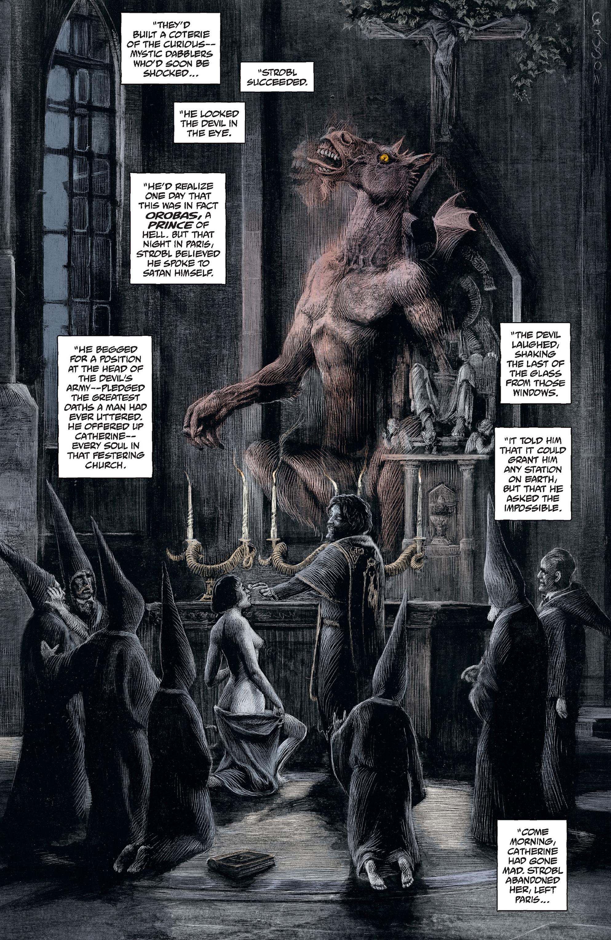 Read online Abe Sapien comic -  Issue #30 - 14