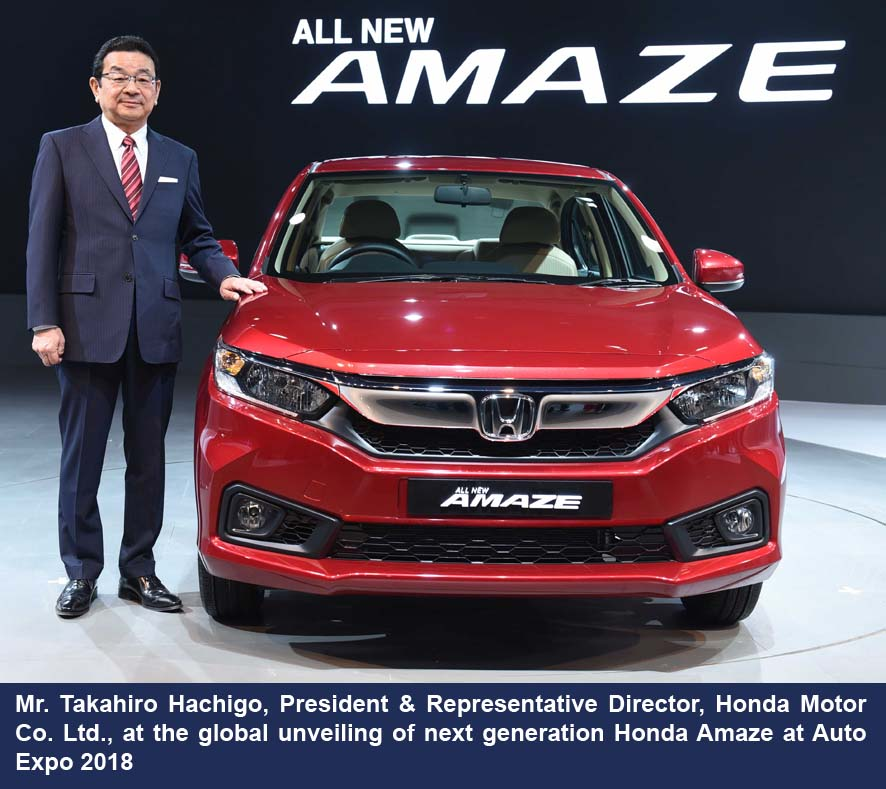 Speaking On The Occasion Mr Takahiro Hachigo Said In 2017 Honda Provided Our Products And Joys To Over 30 Million Customers Around World