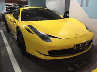 Jual Sedan Mewah Bekas Ferrari 458