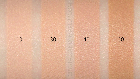 Rodial Diamond Concealer Swatches 10 30 40 50 MAC NW15 NW20 NC25 NW30 NC35 NC40