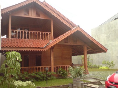 15+ rumah kayu bertingkat, terbaru!