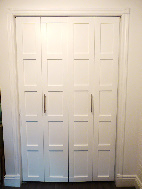 Door Handle Placement For Double Door Kitchen Pantry