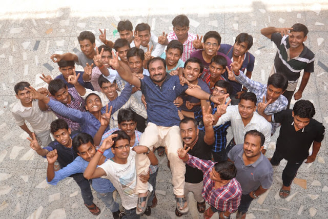 Anand Kumar with His Super 30 Students