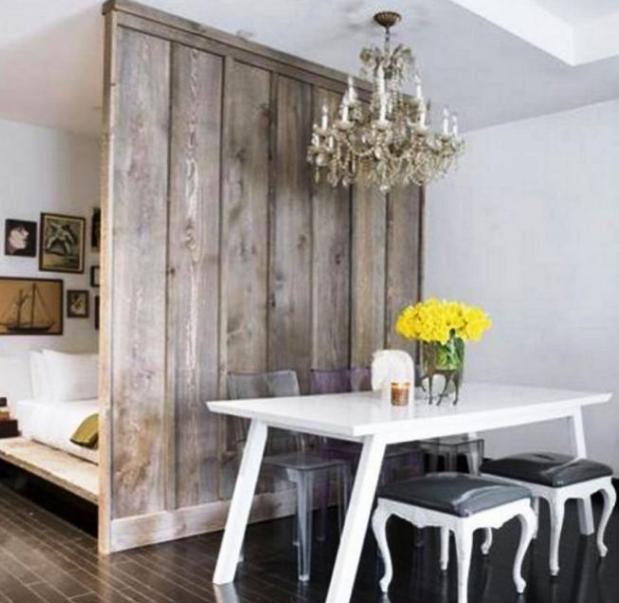Pembatas ruang dengan desain buatan sendiri, Desain Pembatas Ruangan Minimalis