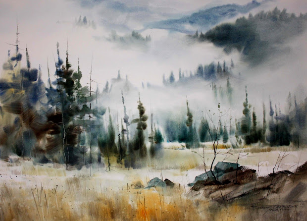 Sterling Edwards Watercolor Painting