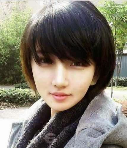 model terbaru trend rambut perempuan 2015 wajah bulat