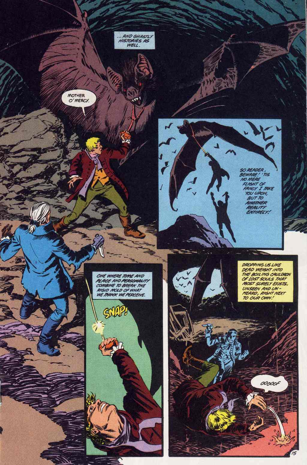 Swamp Thing (1982) Issue #86 #94 - English 15