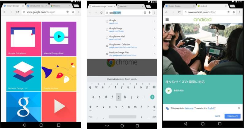 Google Chrome best broswer app for android