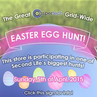 Caspertech Easter Egg Hunt