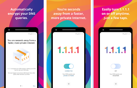 CloudFlare تطلق تطبيق its 1.1.1.1 DNS على نظام اندرويد
