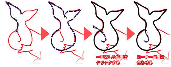 胴体の描き方2