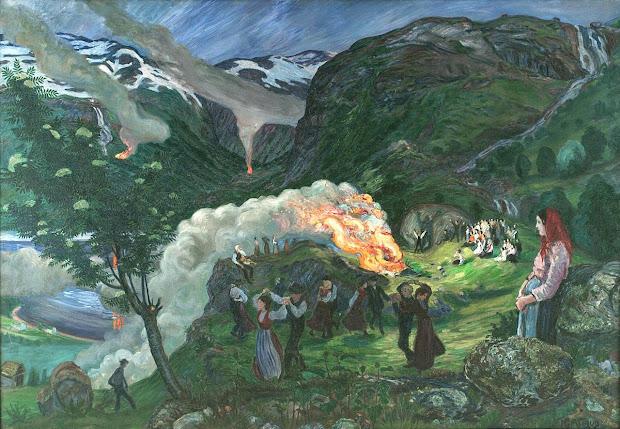 Norse Mythology Art Contest