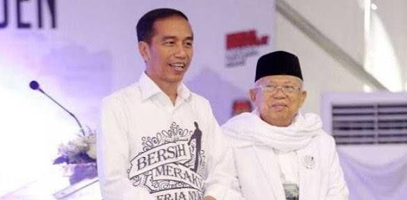 Paslon Jokowi-Maruf Lebih Sering Diperbincangkan Netizen