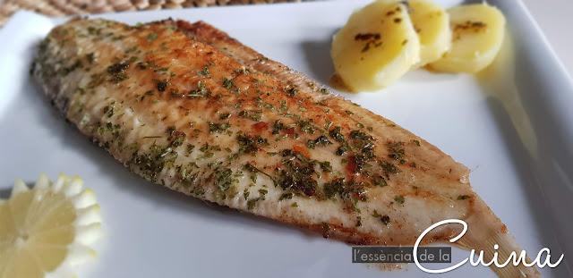 Peix, llenguado, cuina facil, recepta facil, cocina facil, receta facil,  lenguado, pescado