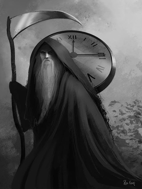 Father Time by Ros Kovac.