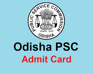 OPSC Admit Card For Civil Judge Judicial Services (Main) Exam