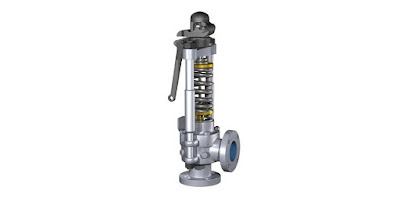 industrial safety valve for pressure relief