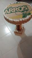 Como hacer una mesita redonda de cartón paso a paso