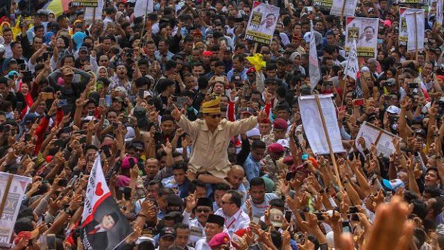 Prabowo: Usai Bela Rakyat, Saya Siap Dipanggil Allah
