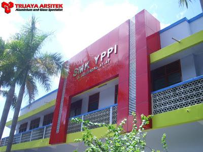 Aluminium Composite Panel, Kisi - Kisi Aluminium, Letter Stainless, Proyek Surabaya,