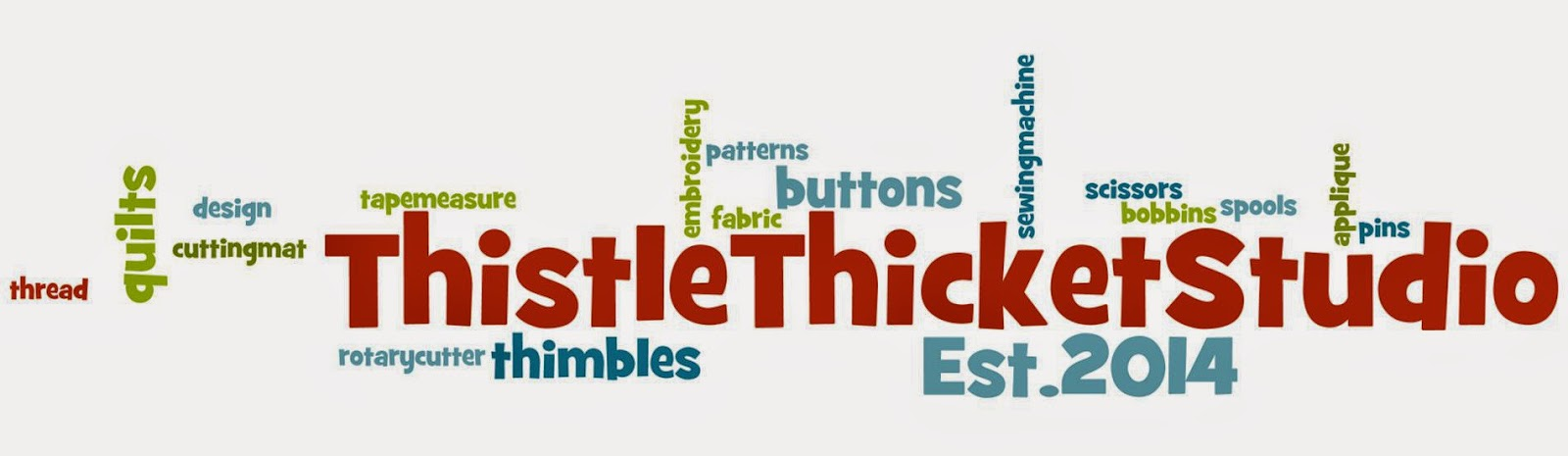 Quilting With Thistle Thicket Studio: Wordle Me This?