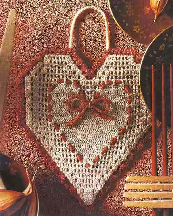 """Cogedor a Crochet """"Un detalle en la cocina"""""""