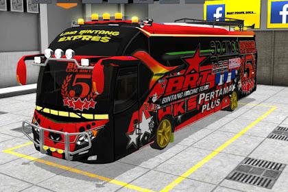 Livery BUSSID Arjuna XHD V5B BRT