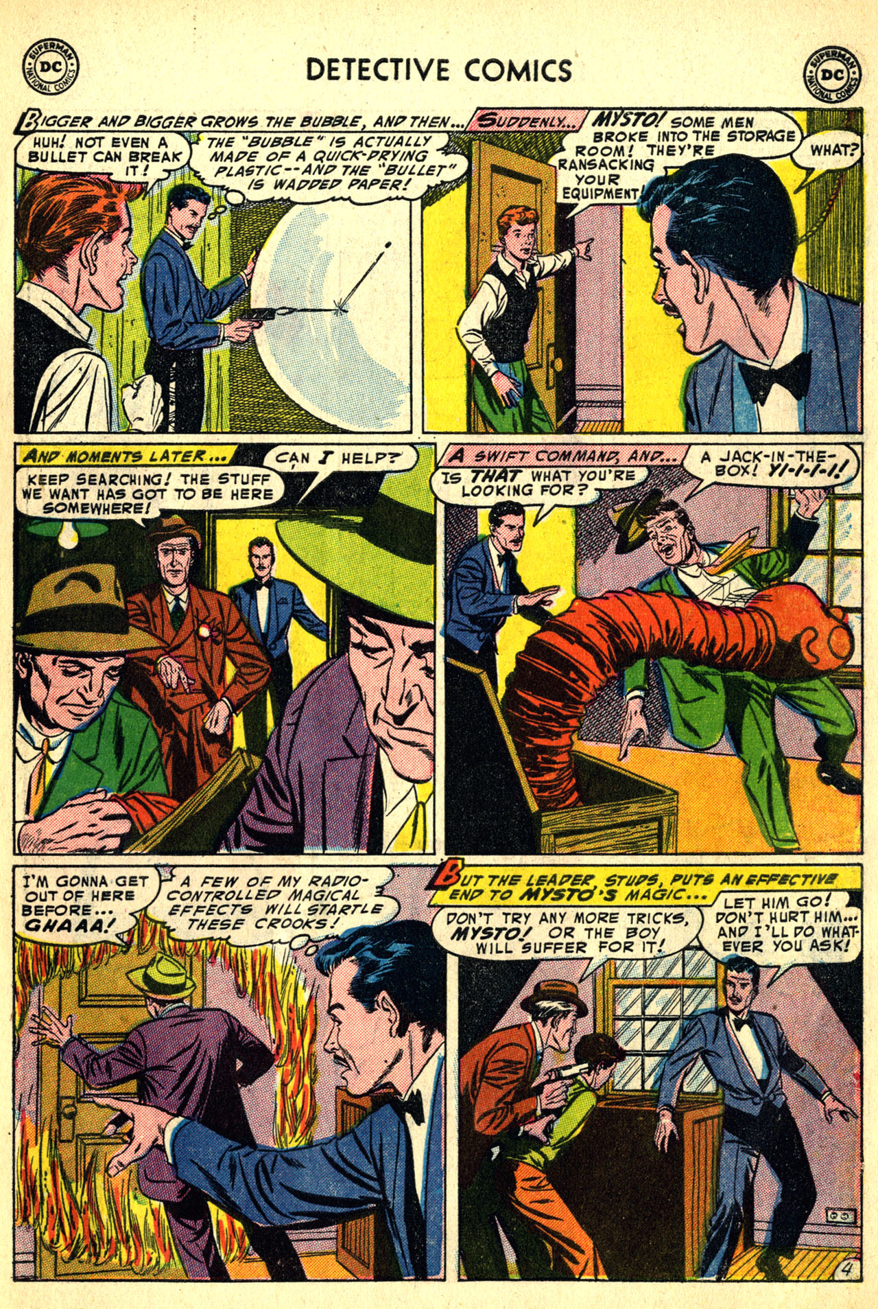 Read online Detective Comics (1937) comic -  Issue #208 - 37
