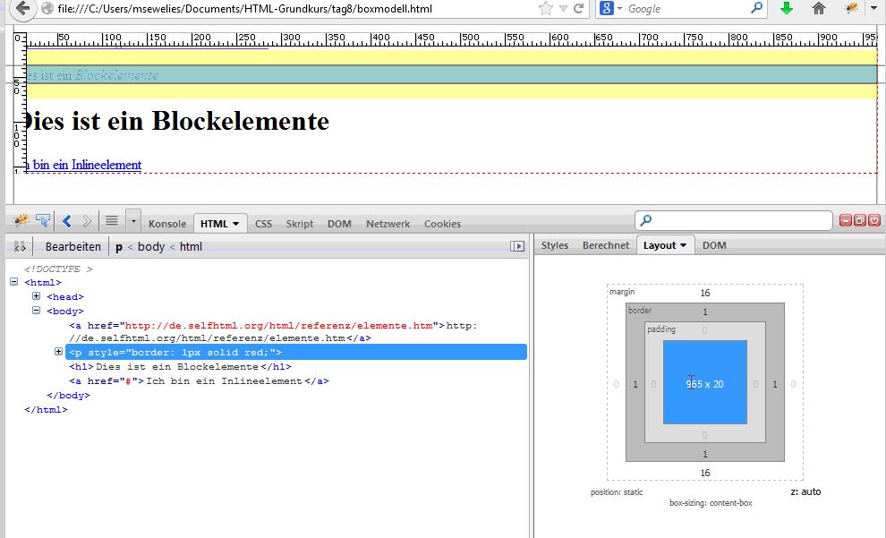 unsortierte liste html