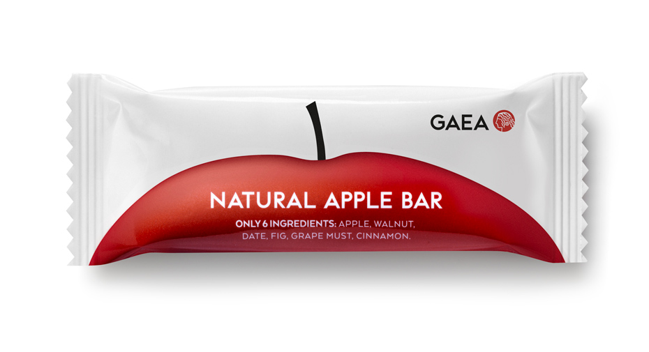 GAEA Fruit Bars On Packaging Of The World