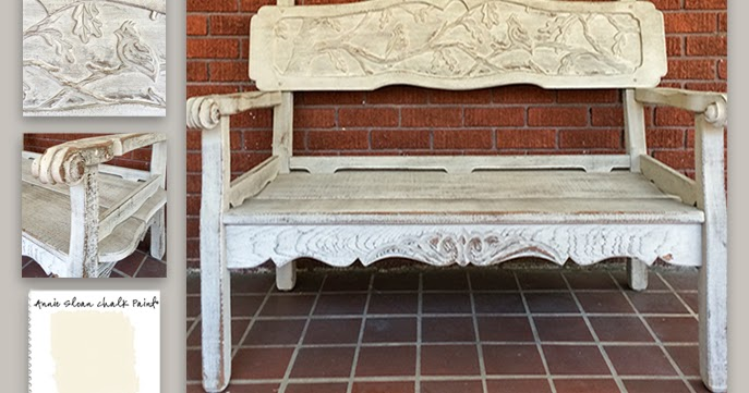 Colorways: White Washed Bench