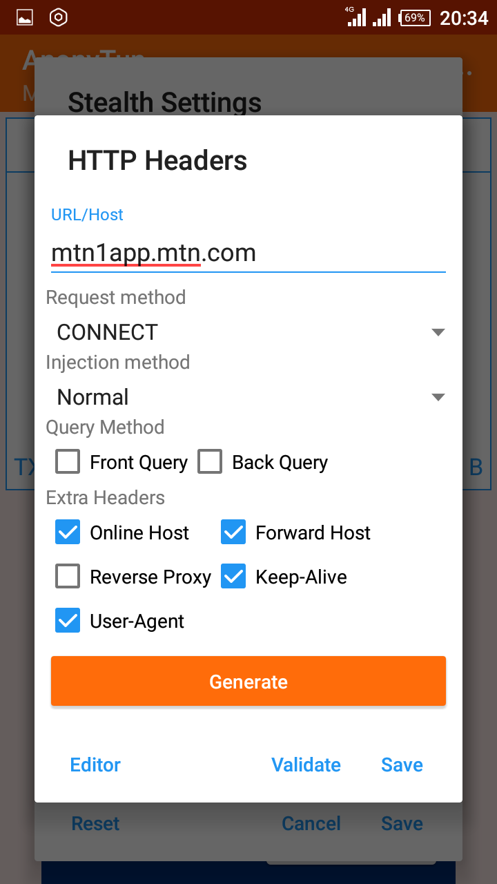 How To Configure And Use MTN Free Browsing Cheat With Out SSH