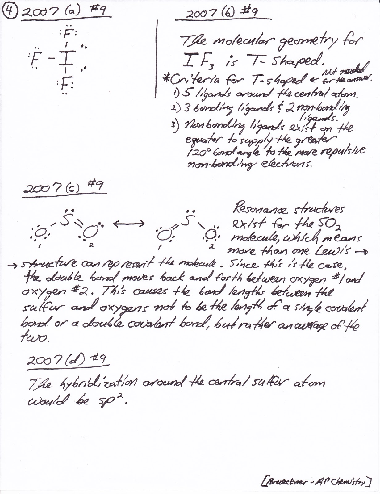 Mr Brueckner S Ap Chemistry Blog Chapter 8 And 9 Test Announcement