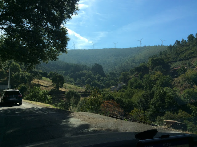 driving in Central Portugal