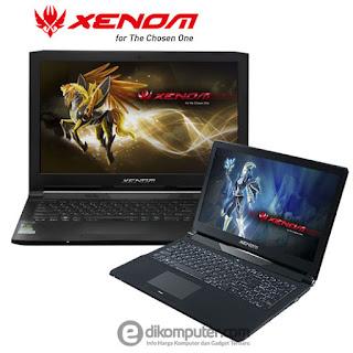 Daftar harga laptop gaming merek Xenom