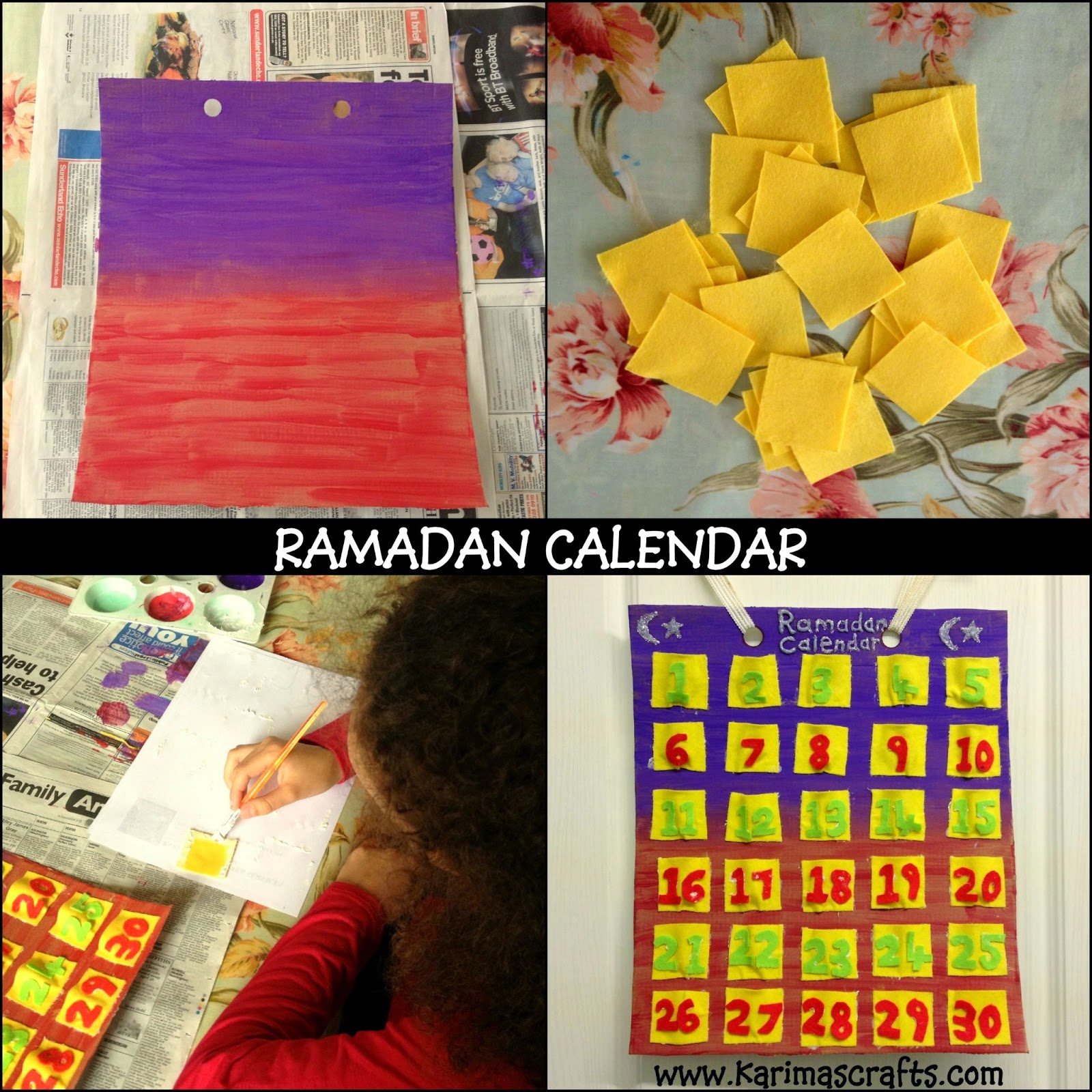 Karima S Crafts 30 Days Of Ramadan Crafts Roundup