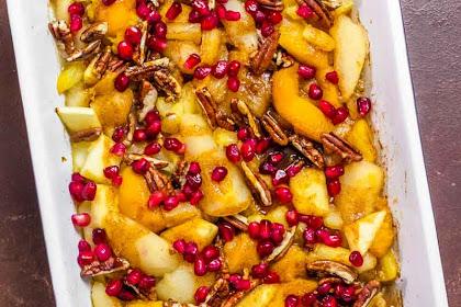Spiced Fruit Bake