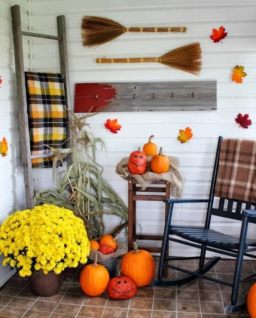 Fall Decor Ideas Canadian Bloggers Home Tour: Farmhouse Fixer Upper Home Tour