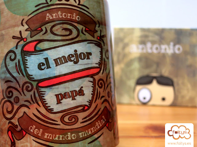 Taza personalizada | Custom mug foltys vs Antonio y Aroa | Regalo original | Original gift
