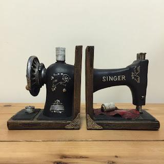 máquina de coser reciclada