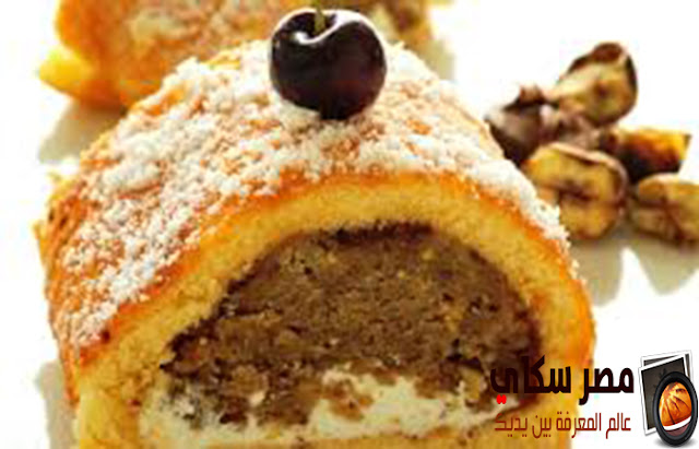حلوى أبوفروة وخطوات التحضير