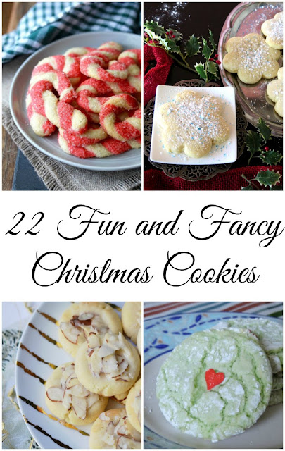 So many great cookie recipes. There will be something for everyone on your list. Christmas cookies have never looked so good!