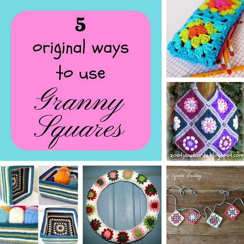 5 original ways to use granny squares