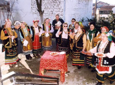 Αρβανίτικα Κάλαντα του Λαζάρου   (περιοχής Θίσβης Βοιωτίας)