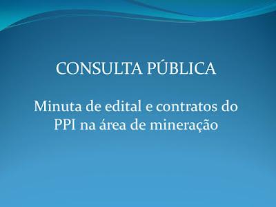 CPRM realiza audiências públicas sobre edital e contrato de alienação de ativos minerários